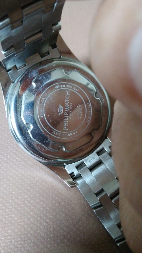 32ad32fb720 relógio philip watch stainless steel automatic. Carregando zoom.