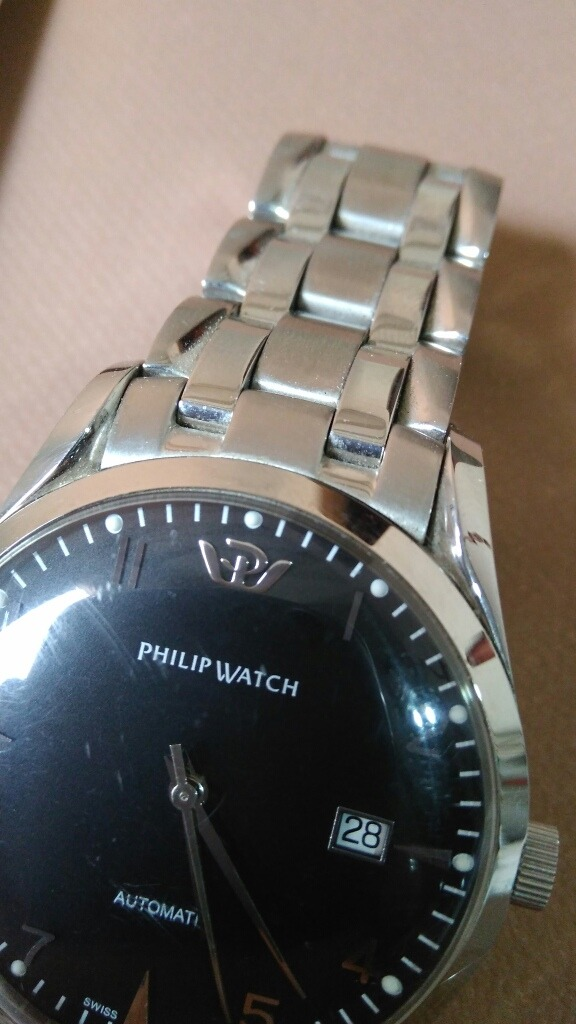 a104af8c581 Relógio Philip Watch Stainless Steel Automatic - R  990
