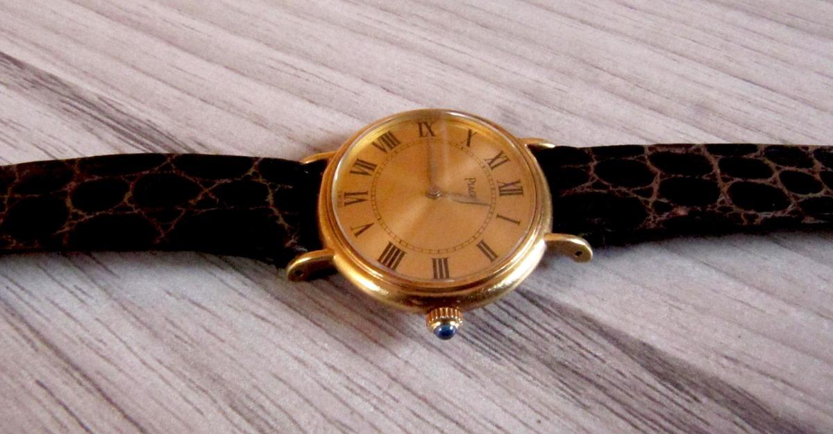 ac9ef91e233 relógio piaget de ouro 18k suíço manual. Carregando zoom.