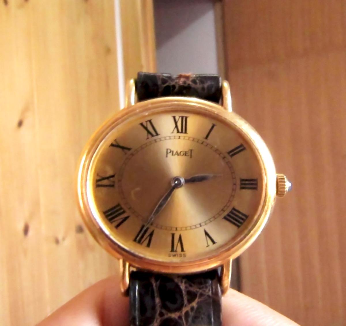 3b2d96860d9 Relógio Piaget De Ouro 18k Suíço Manual - R  3.650