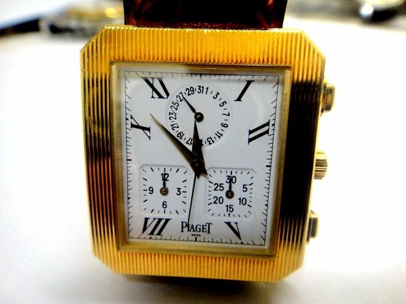 afef7168527 relógio piaget protocolo chronograph de ouro 18k. Carregando zoom.