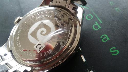 relógio pierre cardin/ promoçao