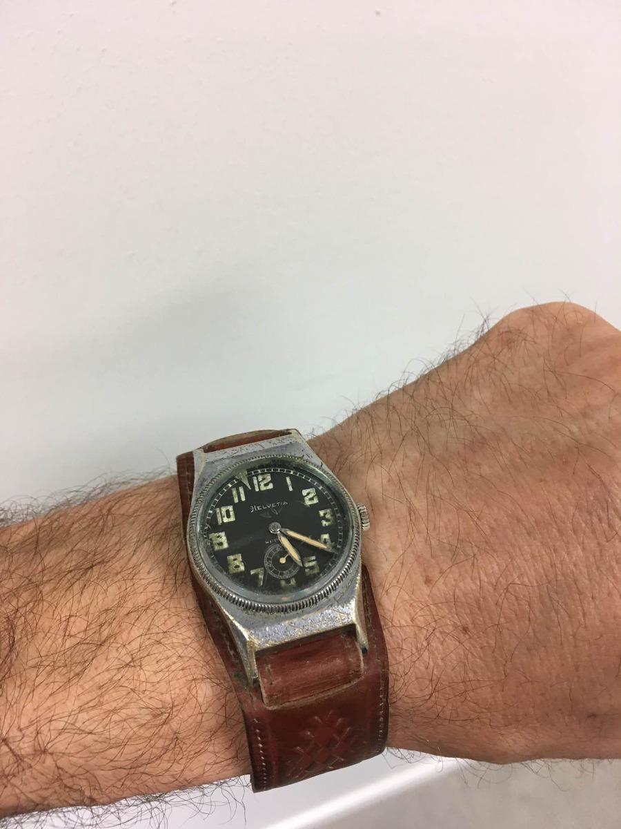 d947d1082b7 relógio piloto 1940 luftwaffe helvetia. Carregando zoom.