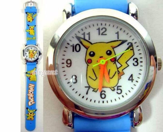 1e71b95c9b2 Relógio Pokemon Go Infantil Criança Pulseira 3d - Promocao - R  11 ...