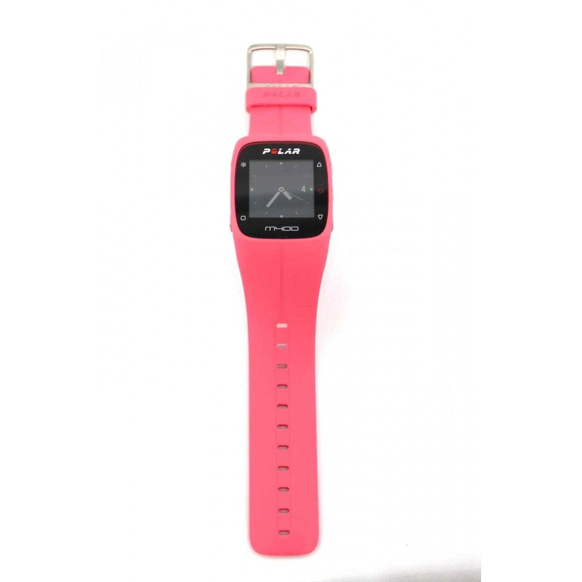00869bb102f relógio polar m400 monitor cardíaco gps bluetooth rosa. Carregando zoom.
