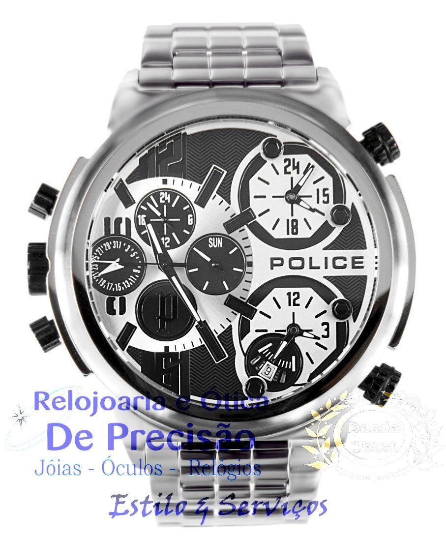 cb99a08c24c relógio police multi-função tri-time python pl13595js 04m. Carregando zoom.