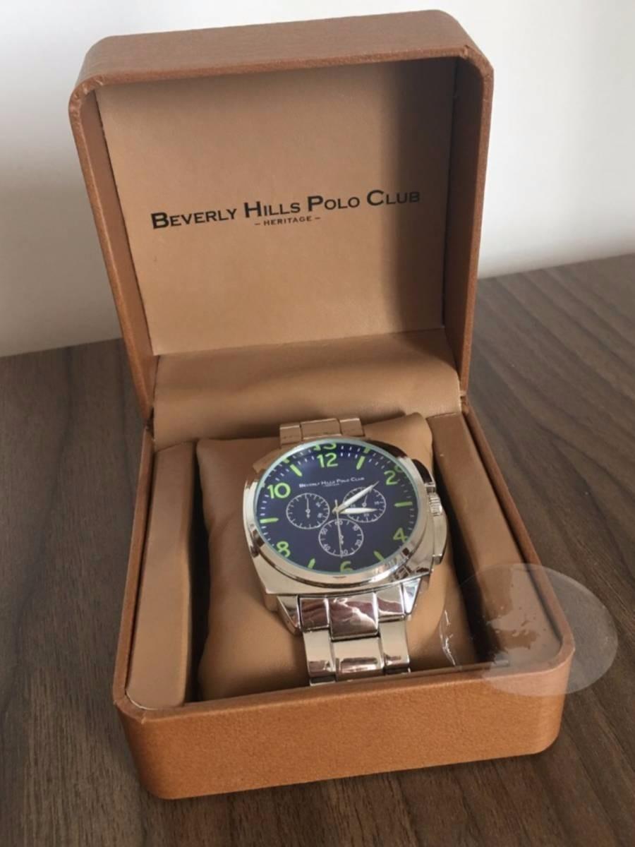 b6f50d60d28 relógio polo beverly hills polo club masculino. Carregando zoom.