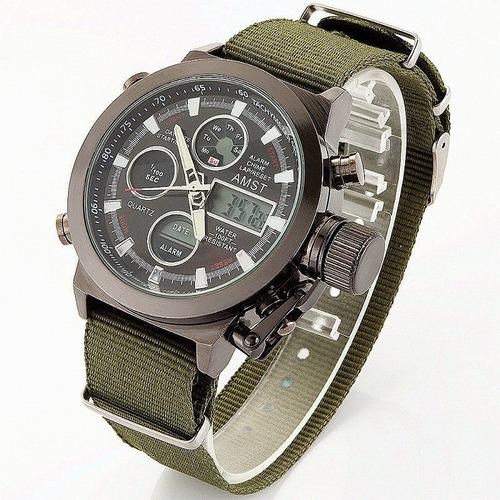 relógio ponteiro quartz  myota masculino azit a001 71mm 97mm