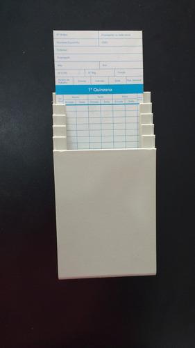 relógio ponto cartografico henry+nf+50cartoes+porta cartão