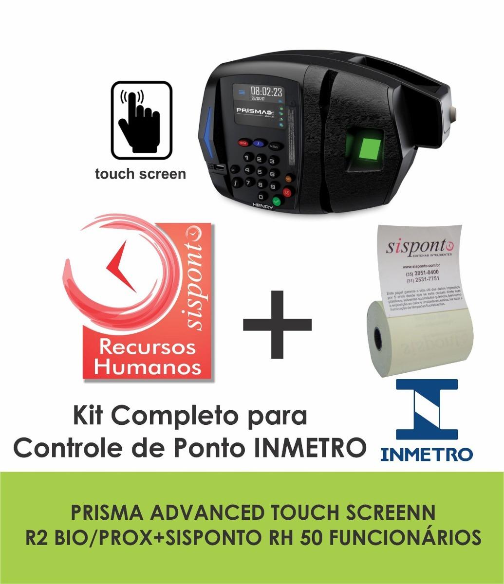 Relogio Ponto Eletronico Henry Rep Prisma Adv R2 Software