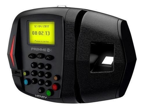 relógio ponto primme sf bio 600 dig. s/ impressão