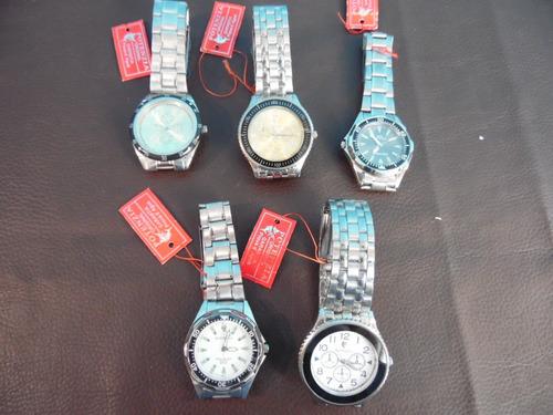 relógio potenzia de pulso - novos nunca utilizados 5 peças