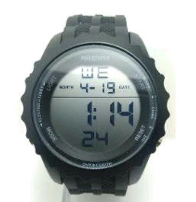 eacf7d14f92 Relógio Potenzia Masculino Digital Prova D agua + Brinde - R  49