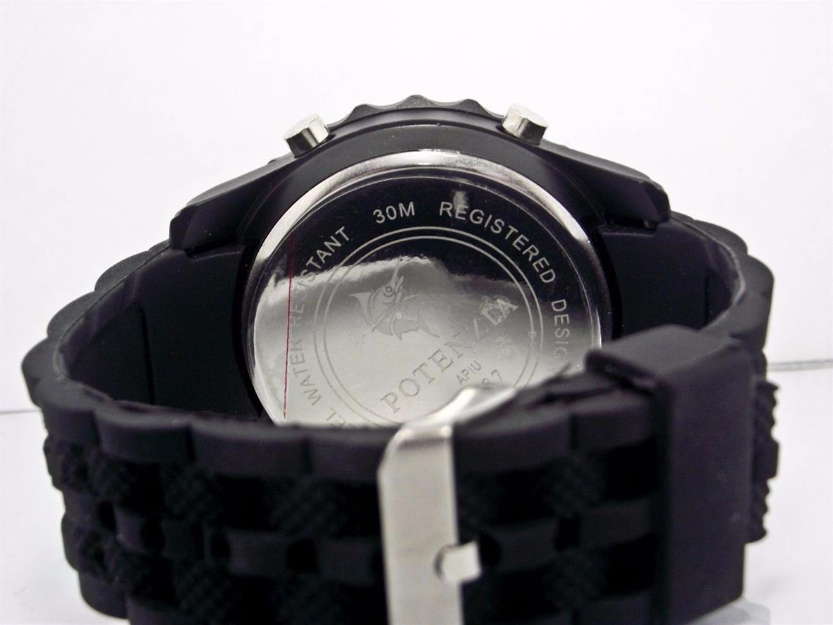 38842f0ecd4 relógio potenzia original a prova dágua 30 mts barato d+. Carregando zoom.
