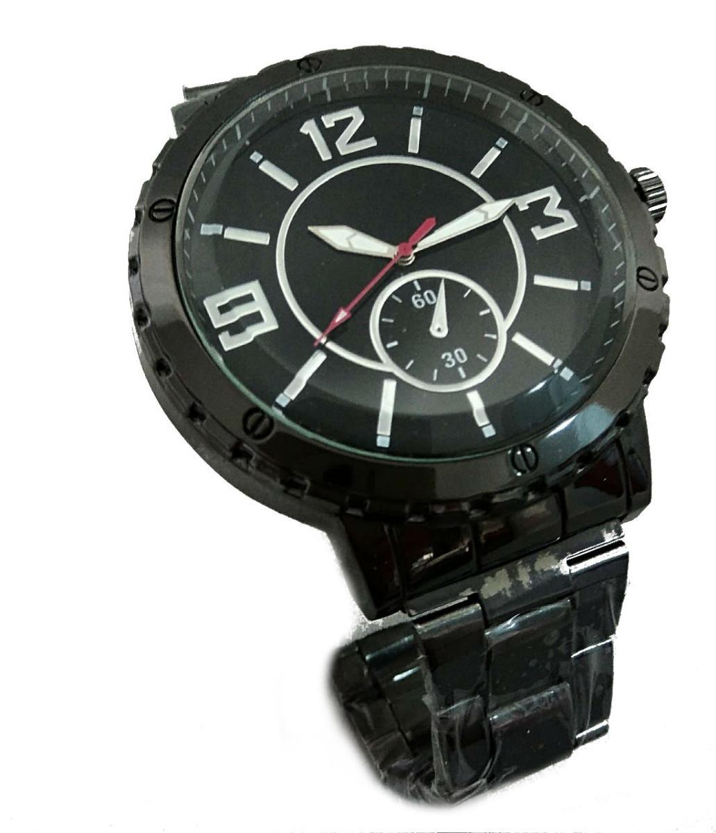 b6e743c7229 relógio preto masculino de ponteiro importado de luxo barato. Carregando  zoom.