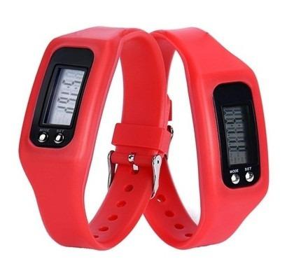 relógio pulseira corrida - original marca calorias e passos