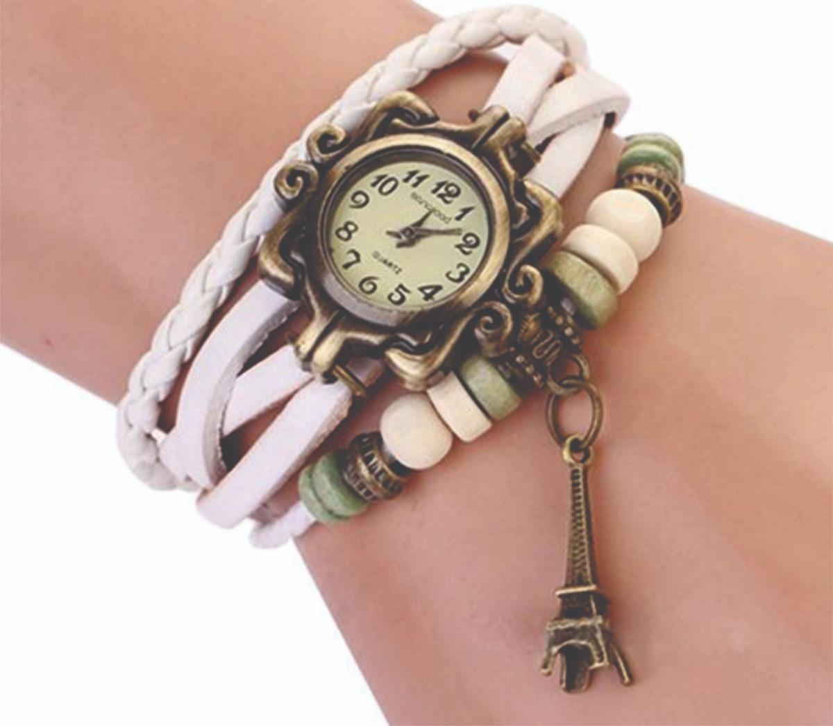 e5a54dcb9f8 Relógio Pulseira De Couro