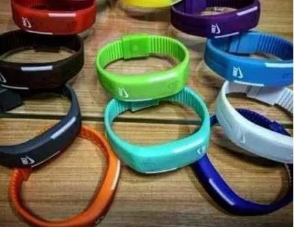 relógio pulseira de silicone led unissex ajustável barato