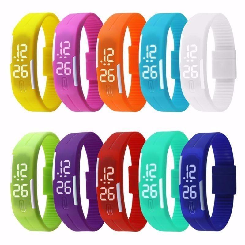 96a19cdf61d Relógio Pulseira Digital Led Nike Bracelete Resistente Água - R  4 ...