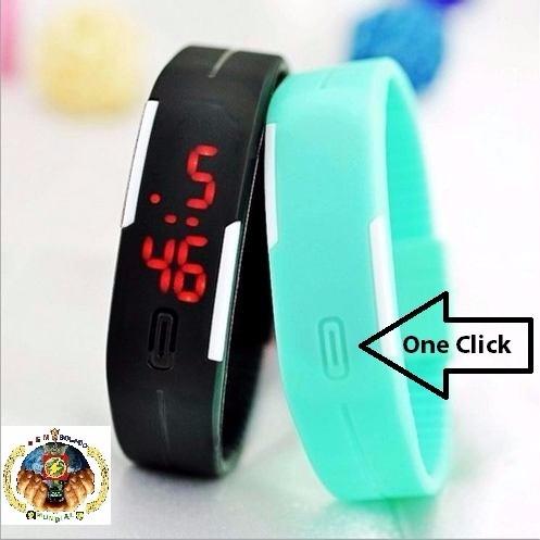 3987ee67d66 Relógio Pulseira Nike Digital Led Fitness Academia Top + Pe - R  22 ...