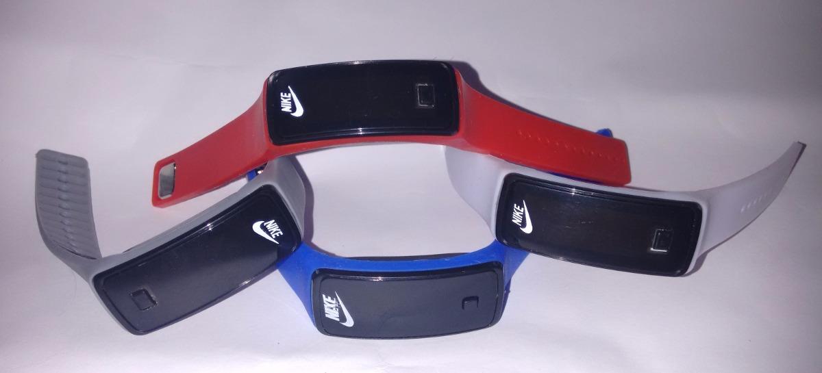 d17263f7f97 relógio pulseira nike digital led silicone - varias cores. Carregando zoom.
