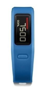 relógio pulseira vivofit garmin azul - nova, lacrada!