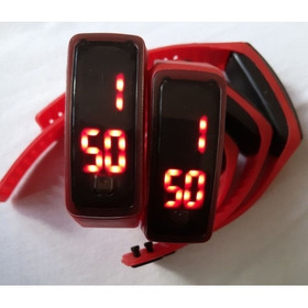 Relógio Pulseiras De Leds,5 Unidades.