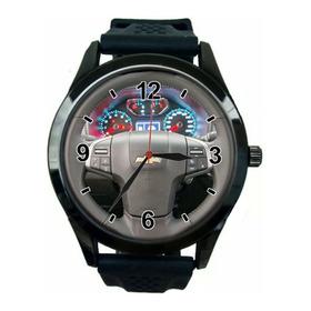 Relógio Pulso Barato Personalizado Foto Volante Painel S10