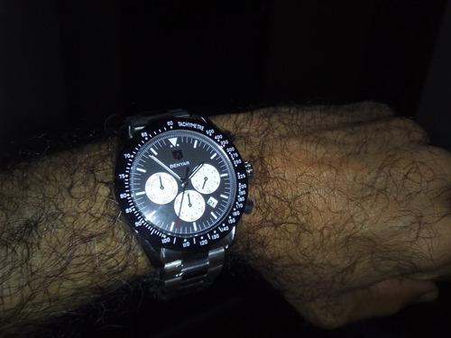 relógio pulso - benyar - 45mm - hardlex