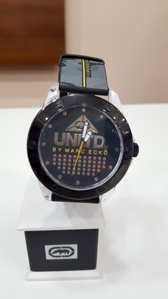 b606253c9f6 relógio pulso ecko unltd unissex pulseira silicone original. Carregando zoom .