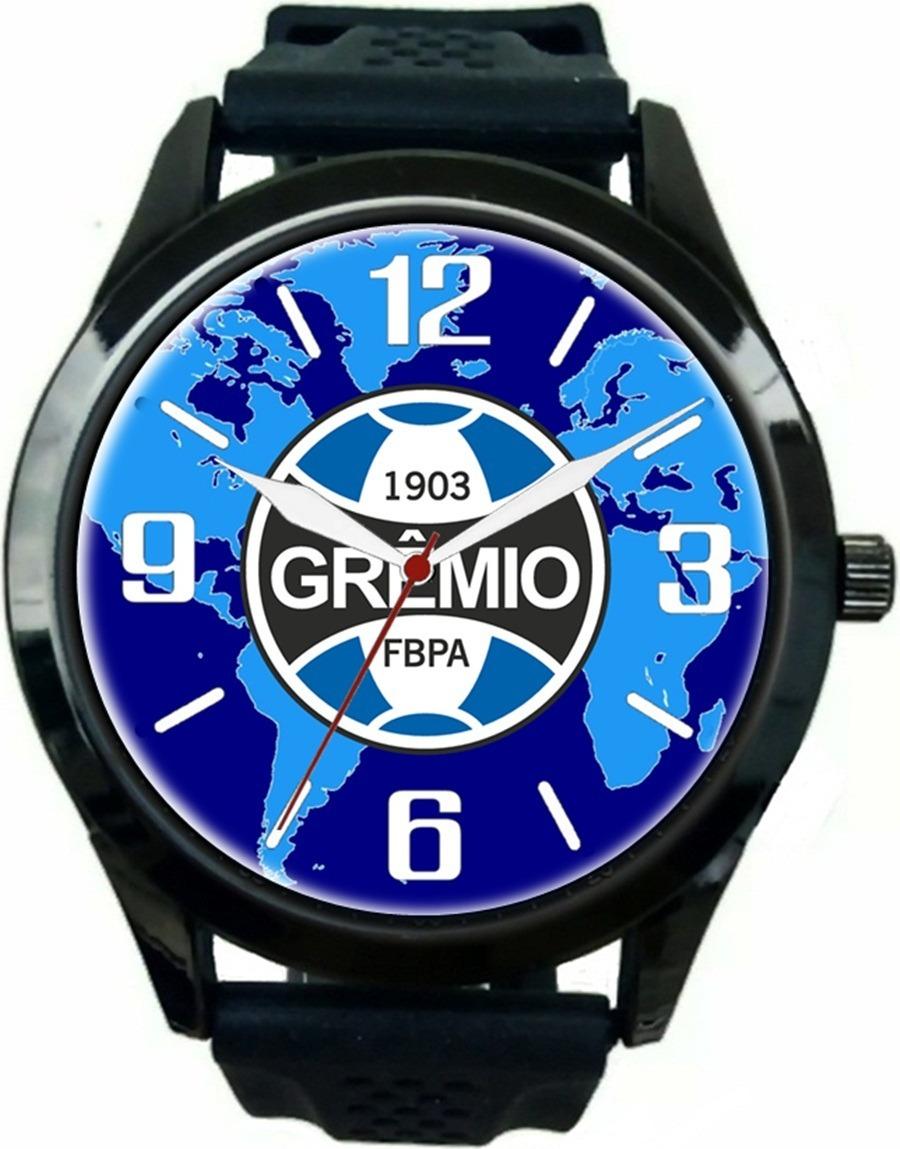 1c6fea0d0cf relógio pulso esportivo barato personalizado grêmio oferta. Carregando zoom.