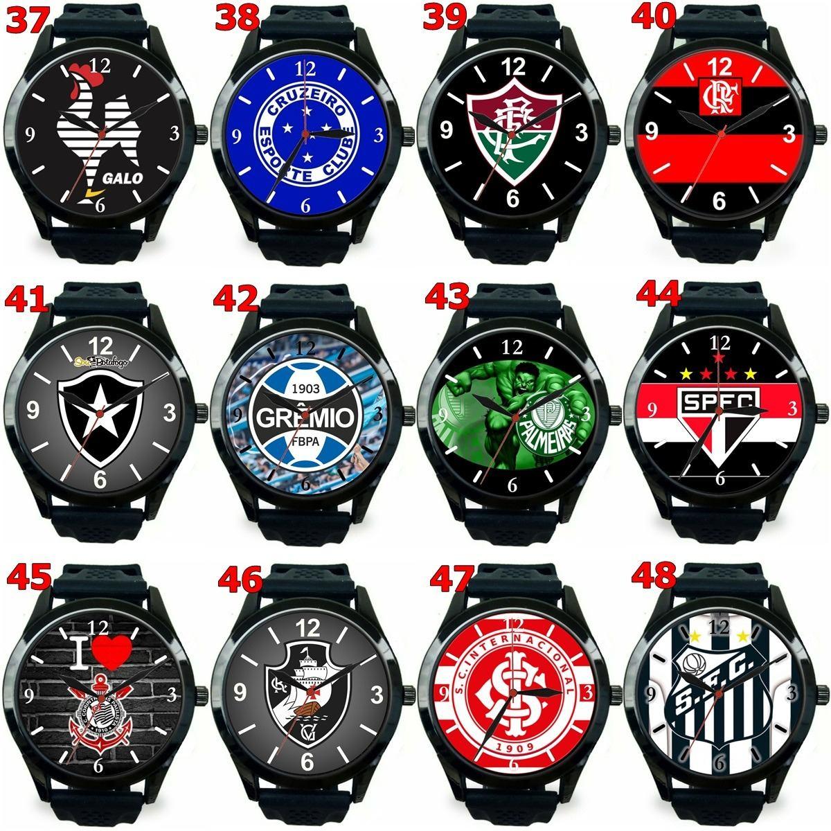 3fa11b0927c relógio pulso esportivo personalizado futebol atacado barato. Carregando  zoom.