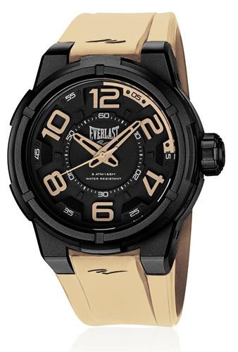 relógio pulso everlast torque e694 caixa abs e pulseira