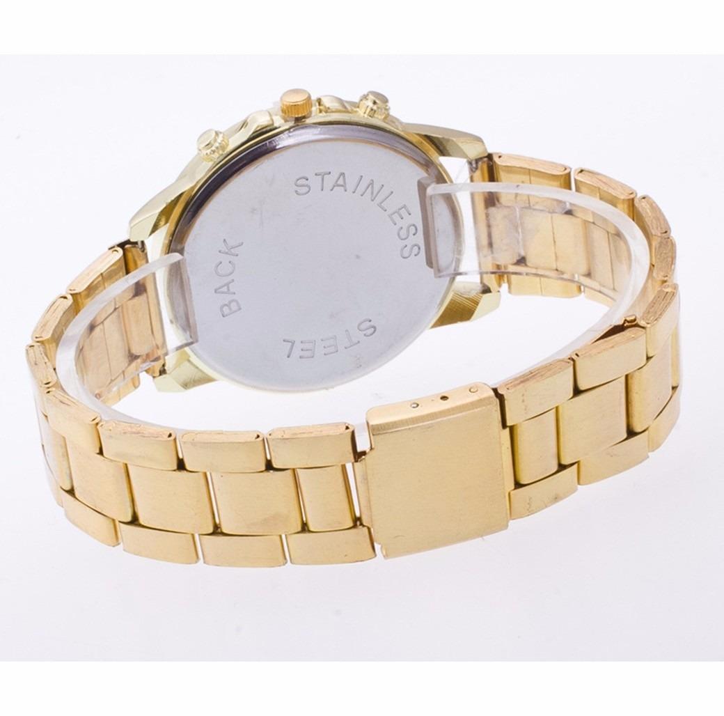 8aea4ed83f3 Carregando zoom... pulso feminino relógio. Carregando zoom... lindo relógio  pulso feminino dourado aço inóxidavel mulher