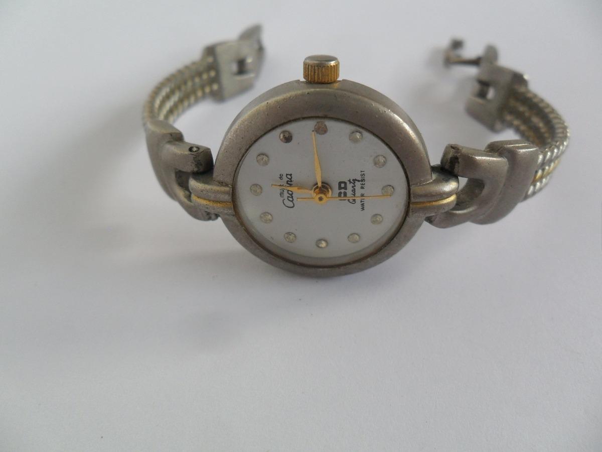 90de634f4dd Relógio De Pulso Feminino Cadina Quartz Antigo Prateado - R  71
