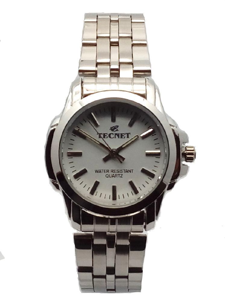 02de03cc01a Relógio De Pulso Feminino Prata A Prova D água Luxo - R  55