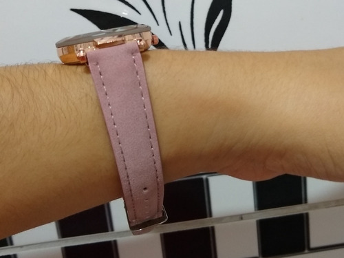relógio pulso feminino luxo em couro