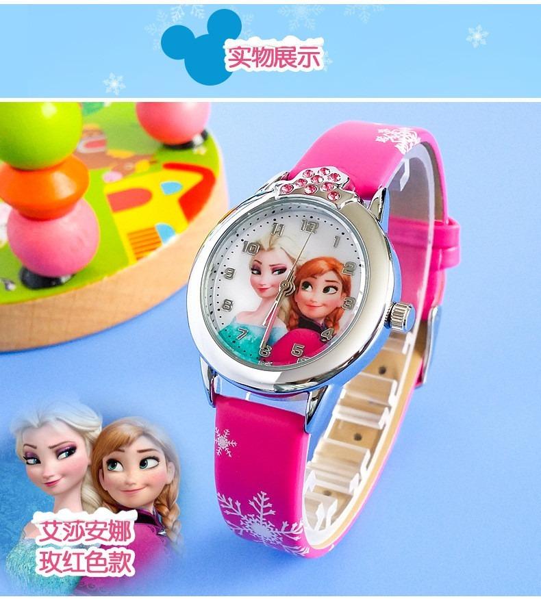 c90b099e339 ... feminino infantil - princesas frozen · relógio pulso infantil.  Carregando zoom.