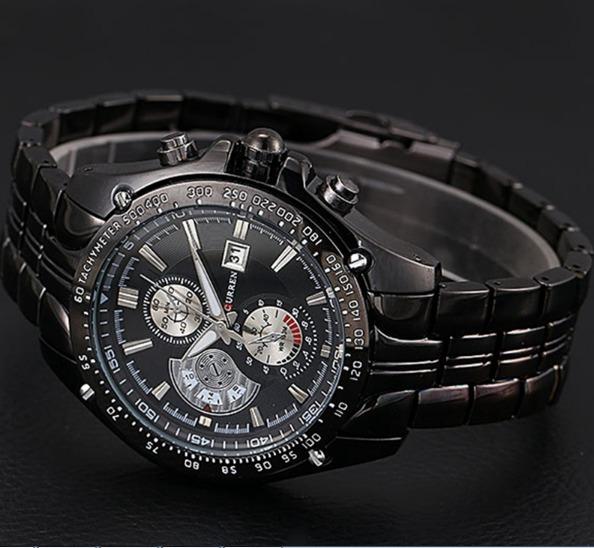 7e65ec292 Relógio De Pulso Masculino Em Aço Inoxidável Melhor Atualida - R  69 ...