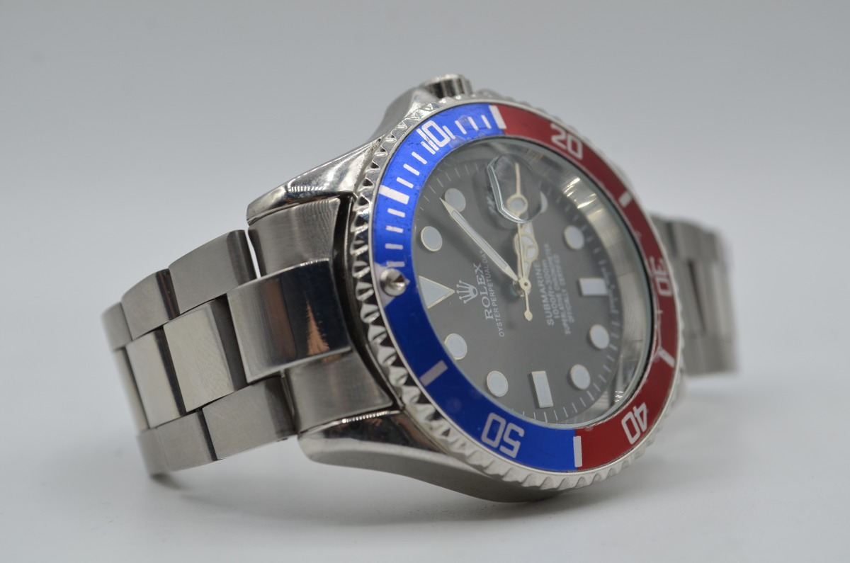 b0e05a18e4a Relógio De Pulso Masculino Rolex Oyster Submariner - R  143