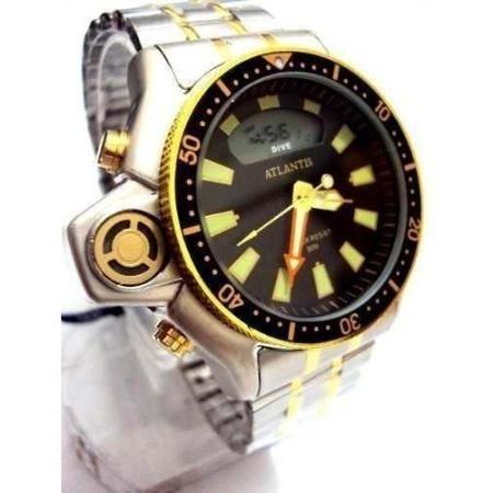 5070ea3c492 Relógio Pulso Masculino Aqualand Marca Atlantis Original - R  169 ...
