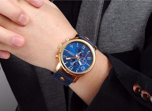 relógio pulso masculino curren
