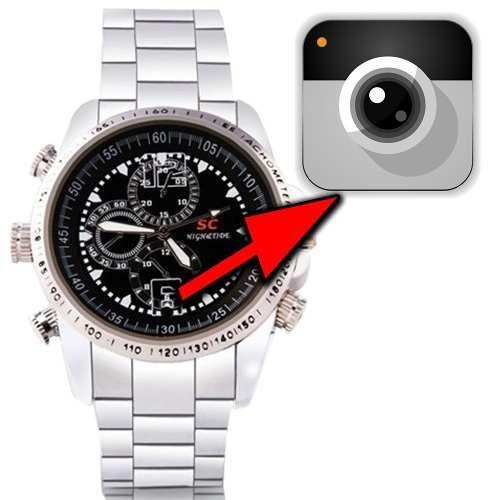 0371887bb69 Relogio Pulso Masculino Mini Cam Mine Cameras Espia Hd Video - R ...