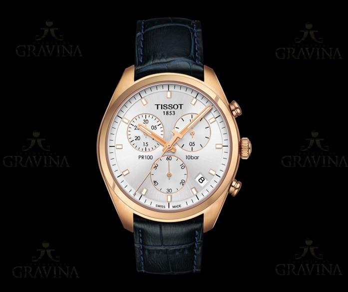 073ea7043fd Relógio De Pulso Masculino Tissot Pr 100 Chronograph - R  2.140