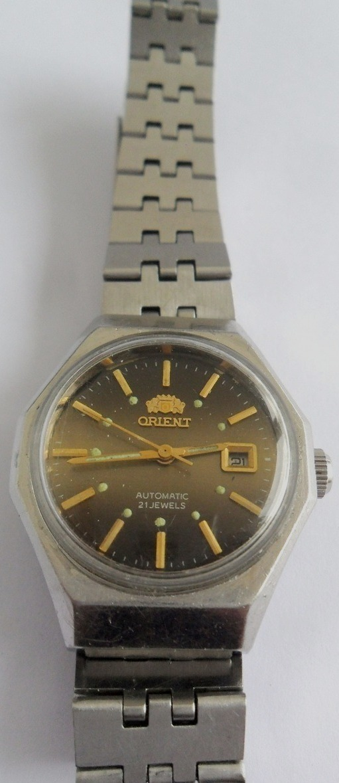 f2402f81d6d Relógio De Pulso Orient Automático Antigo 21 Rubis - R  197