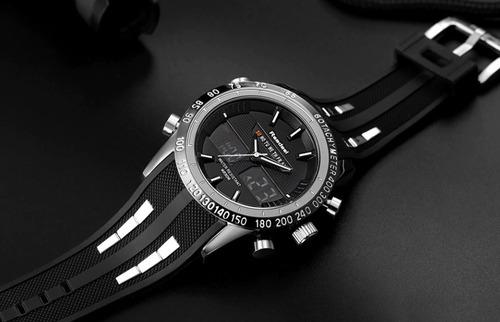 relógio pulso readeel masculino luxo barato militar nf9024