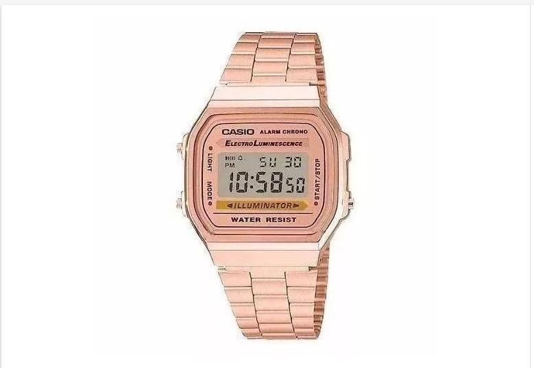 c4504e2df5b Relógio Pulso Rose Unisex Retrô Original Vintage - R  120