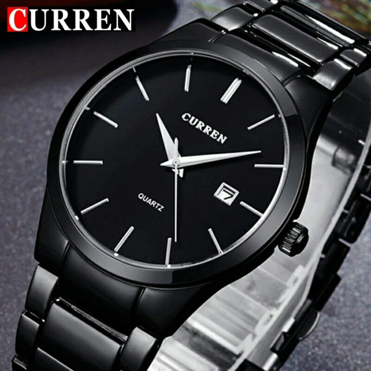 d89d3370b relógio pulso social masculino original da marca curren luxo. Carregando  zoom.
