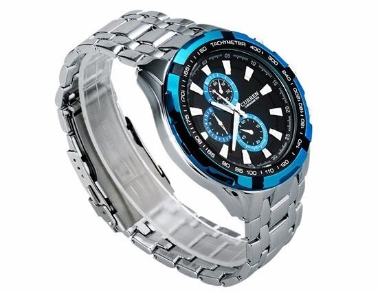 daac43809 Relógio Pulso Social Masculino Original Da Marca Curren Luxo - R ...