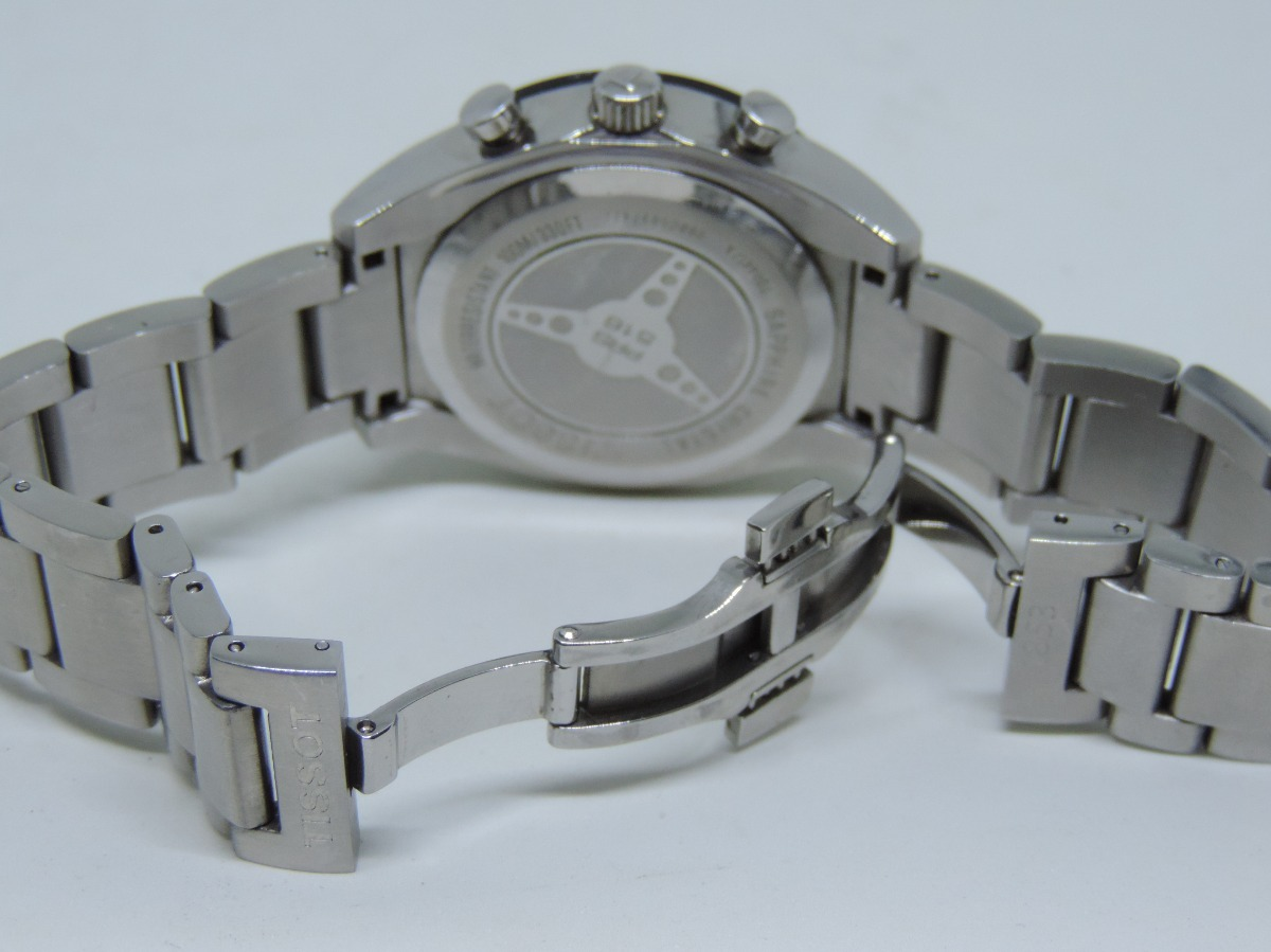 b7989241f77 Relógio Suiço De Pulso Tissot Modelo Prs516 Quartzo - R  1.200